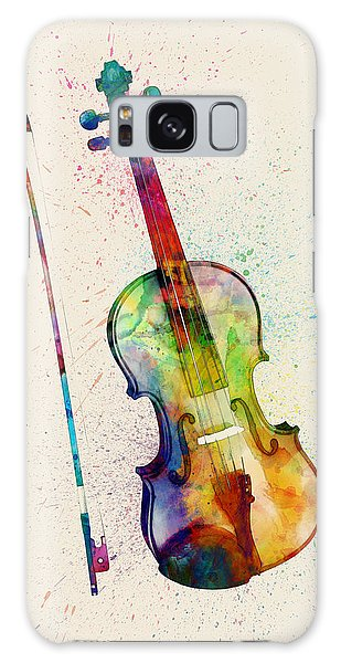 Musical Galaxy Case - Violin Abstract Watercolor by Michael Tompsett
