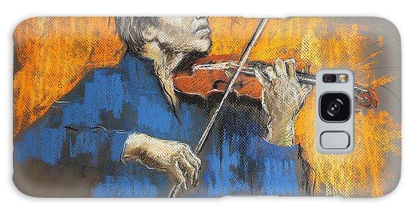 Violinist Galaxy Case by Debora Cardaci