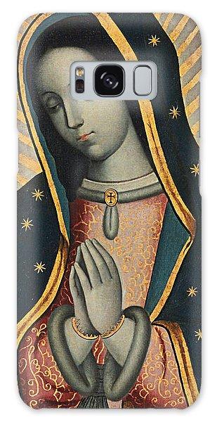 Central America Galaxy Case - Virgin Of Guadalupe by Nicolas Enriquez