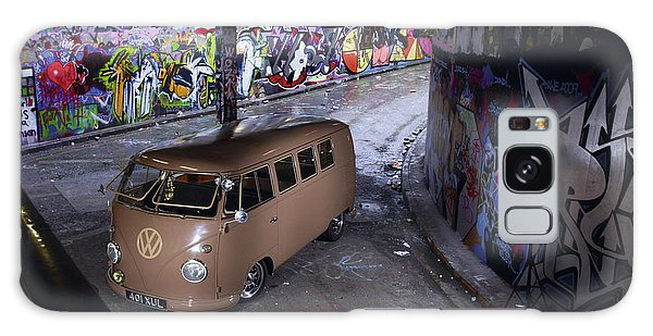 Microbus Galaxy Case - Volkswagen Microbus by Mariel Mcmeeking