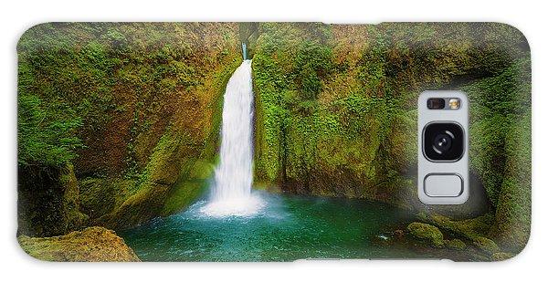 Wahclella Falls Columbia River Gorge Galaxy Case