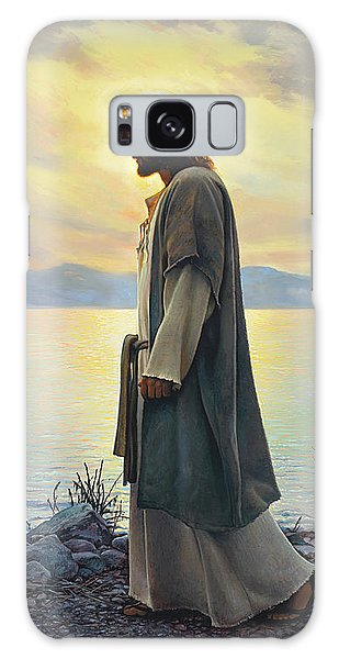 Walk With Me  Galaxy Case by Greg Olsen