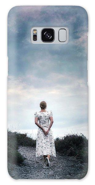 Heather Galaxy Case - Walking In The Heather by Joana Kruse