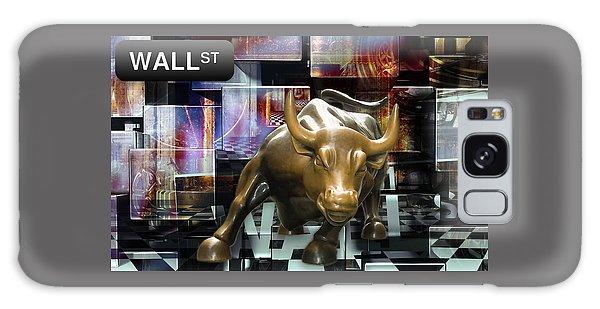 Bull Galaxy Case - Wall Street Bull Market by Marvin Blaine