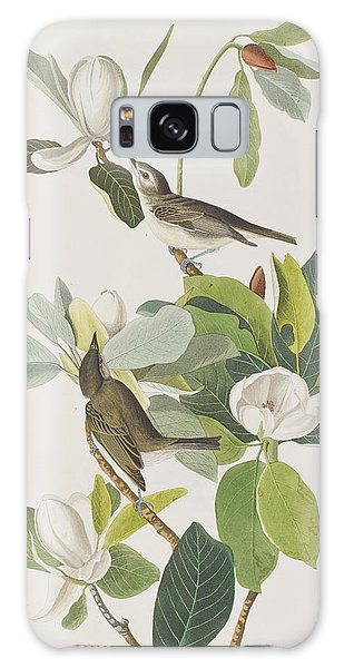Flycatcher Galaxy Case - Warbling Flycatcher by John James Audubon