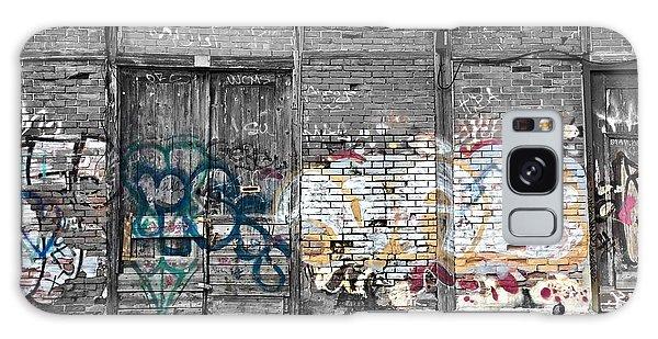 Warehouse In Lisbon Galaxy Case by Ehiji Etomi