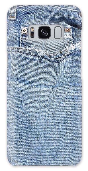 Worn Jeans Galaxy Case