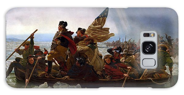 Washington Crossing The Delaware Galaxy Case