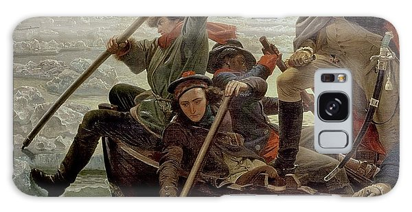 Boat Galaxy S8 Case - Washington Crossing The Delaware River by Emanuel Gottlieb Leutze