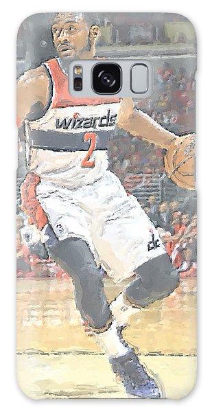 Washington Wizards John Wall Galaxy Case by Joe Hamilton