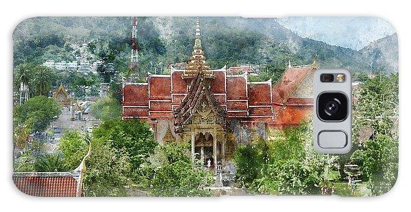 Wat Chalong In Phuket Thailand Galaxy Case