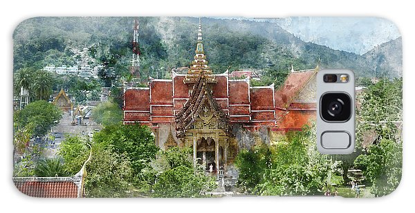 Wat Chalong In Phuket Thailand Galaxy Case