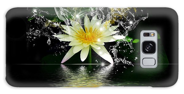 Water Lily Galaxy Case by Gordon Engebretson