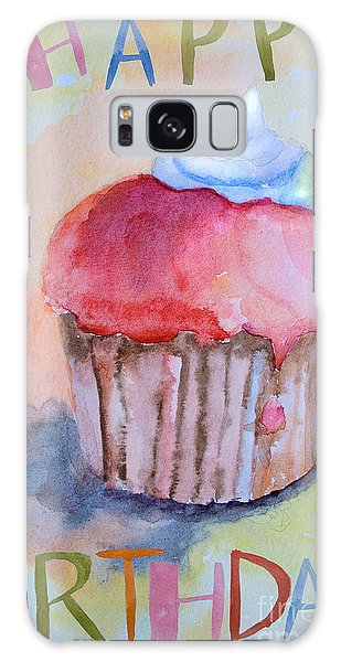 Watercolor Illustration Of Cake  Galaxy Case