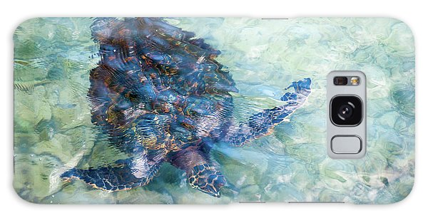 Watercolor Turtle Galaxy Case