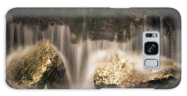 Waterfall Detail Galaxy Case by Scott Meyer