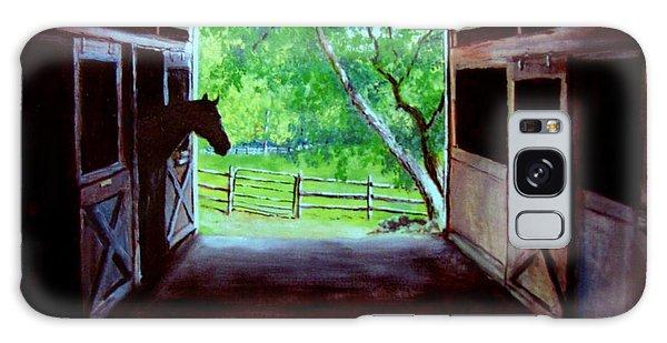 Water's Edge Farm Galaxy Case by Jack Skinner
