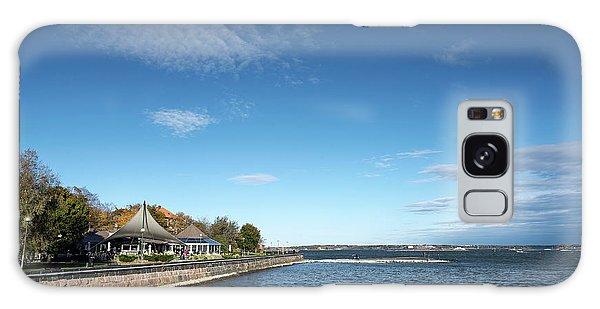 Waterside Restaurant Cafe In Famous Kaivopuisto Park Helsinki Fi Galaxy Case