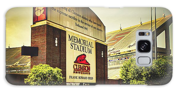 Clemson Galaxy Case - Welcome To Death Valley by Library Of Congress