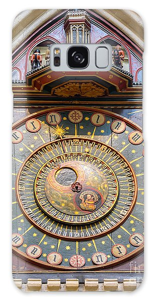 Wells Cathedral Clock Galaxy Case