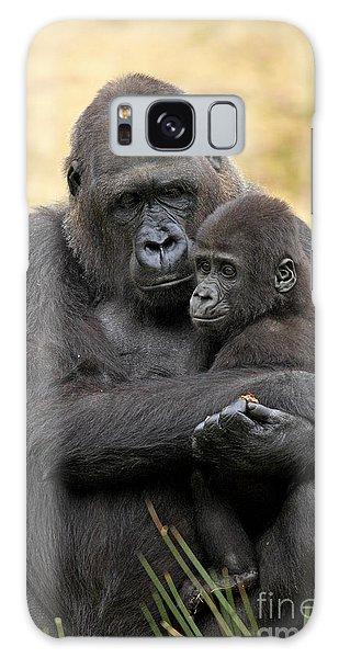 Western Gorilla And Young Galaxy Case by Jurgen & Christine Sohns/FLPA