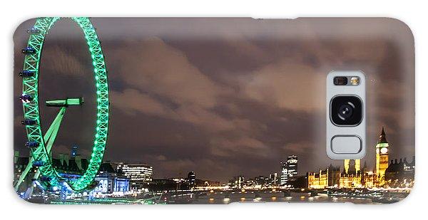 London Eye Galaxy Case - Westminster And The London Eye by Dawn OConnor