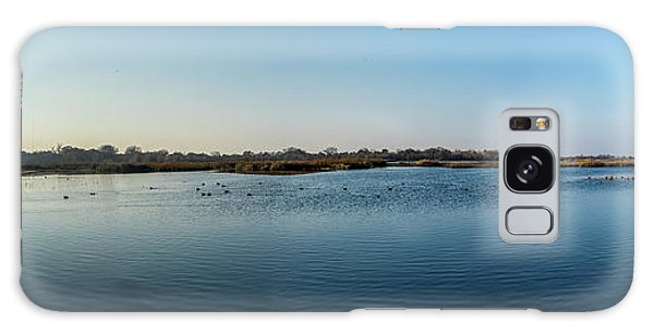Wetlands Panorama  Galaxy Case