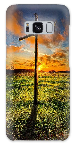 Galaxy Case featuring the photograph What Will Be Will Be by Phil Koch