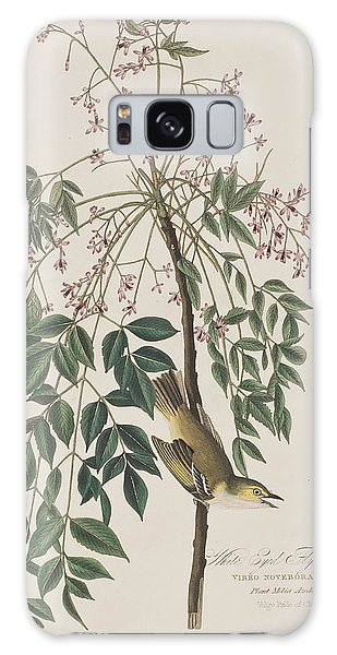 Flycatcher Galaxy Case - White-eyed Flycatcher by John James Audubon