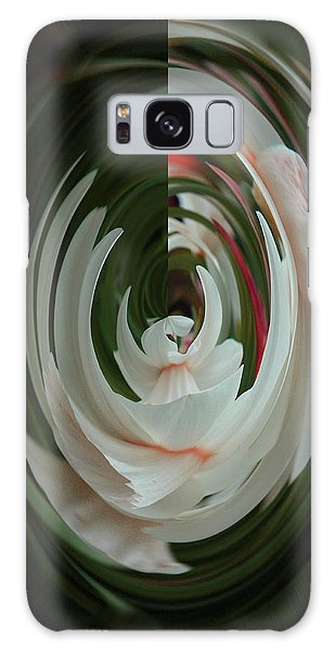 Galaxy Case featuring the photograph White Form by Nareeta Martin