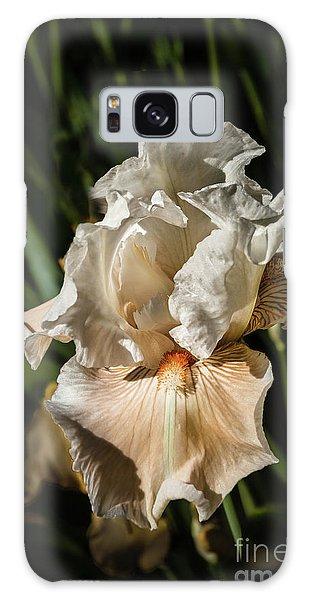 White Iris Galaxy Case by Robert Bales