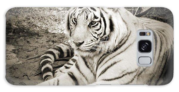 White Tiger Galaxy Case