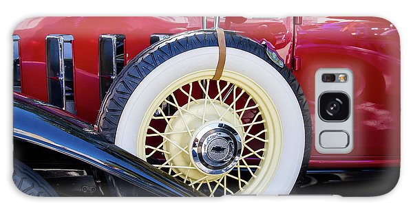 Wide Whitewall Spare Tire Galaxy Case