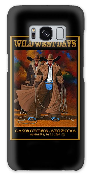 Wild West Days Poster/print  Galaxy Case