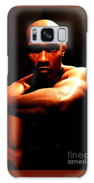Will Portrait Two Galaxy Case