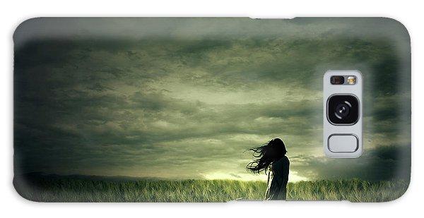 Hair Galaxy Case - Wind by Zoltan Toth