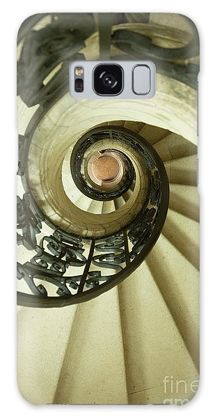 Banister Galaxy Case - Winding Staircase. France. Europe. by Bernard Jaubert