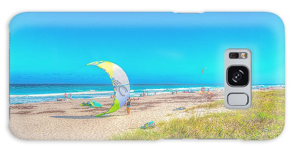 Windsurf Beach Galaxy Case