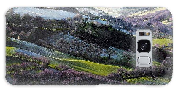 Winter In North Wales Galaxy Case