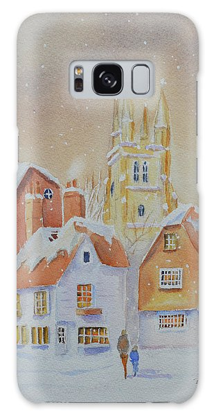 Winter In Tenterden Galaxy Case