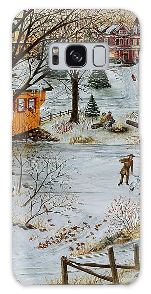 Winter Memories 3 Of 4 Galaxy Case by Doug Kreuger