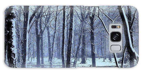 Cold Day Galaxy Case - Winter Wonderland by Martin Newman