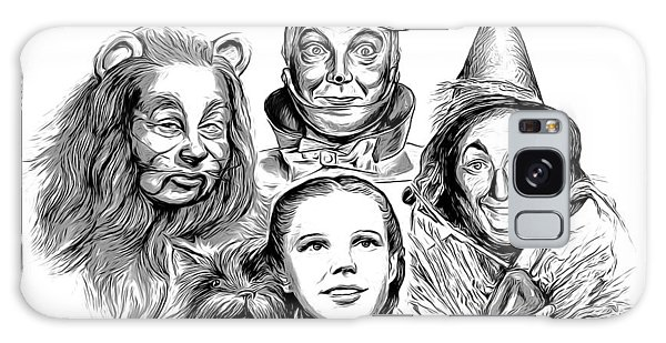 Wizard Galaxy Case - Wizard Of Oz by Greg Joens