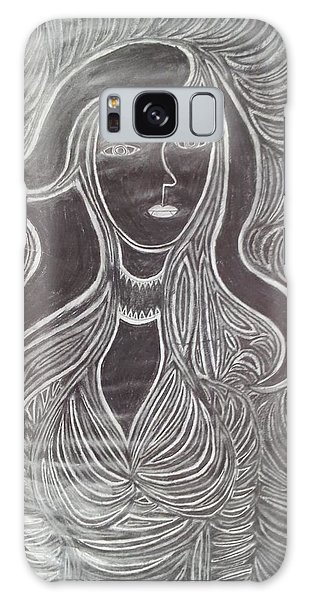 Organic Abstraction Galaxy Case - Woman 3 by William Douglas