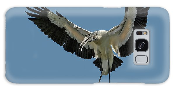 Wood Stork Galaxy Case