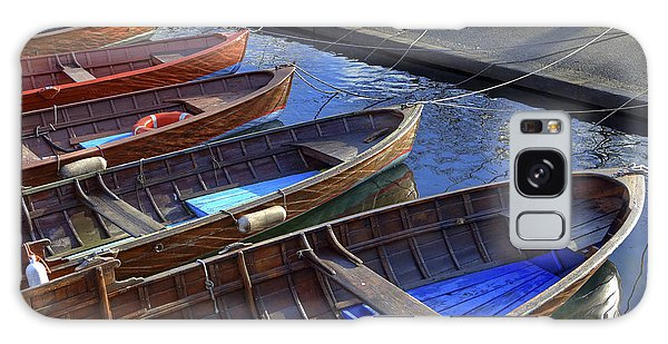 Boat Galaxy S8 Case - Wooden Boats by Joana Kruse