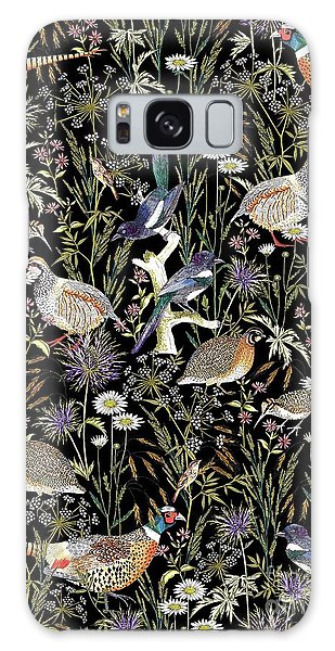 Woodland Edge Birds Galaxy Case