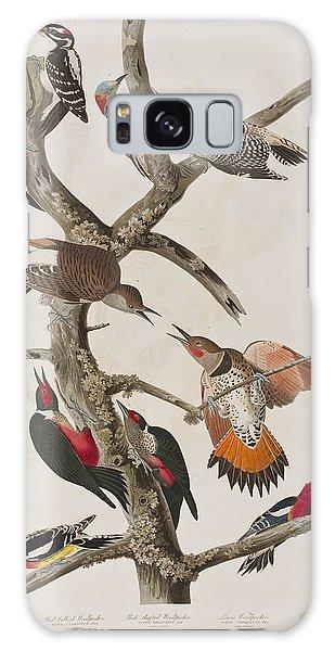 Woodpecker Galaxy S8 Case - Woodpeckers by John James Audubon