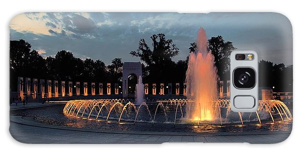 World War II Memorial Fountain Galaxy Case