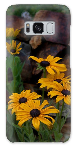 Yellow Beauty Galaxy Case by Cherie Duran